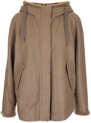 Brunello Cucinelli Shearling Parka Coat
