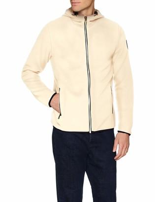 Napapijri N0YI8C - Tame Full - Men's Hooded Jacket - Beige (New Milk Na9) - Large