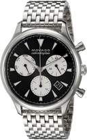 Movado Men's Swiss Quartz Stainless Steel Casual Watch, Color:Silver-Toned (Model: 3650014)