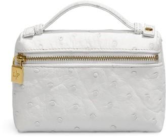 Loro Piana Ostrich L19 Pouch Bag