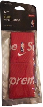 Nike X Supreme Red Suede Gloves