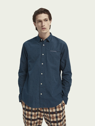 Scotch & Soda Embroidered chic pocket shirt | Men