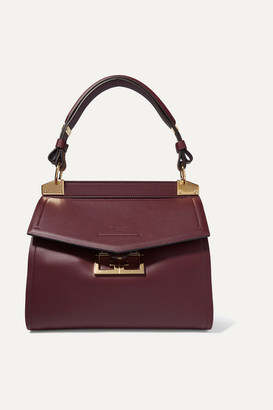 Givenchy Mystic Small Leather Tote - Dark purple