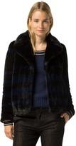 Tommy Hilfiger Rugby Stripe Fur Jacket
