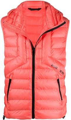 Diesel Quilted Hooded Gilet