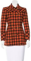 Philosophy di Alberta Ferretti Wool Plaid Jacket