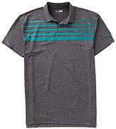 Callaway Golf Big & Tall Faded Stripe Polo Shirt
