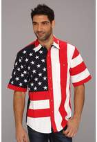 Scully Patriot S/S Shirt Men's Short Sleeve Button Up