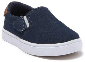 Dr. Scholl's Madison Boy Perforated Slip-On Sneaker (Baby & Toddler)