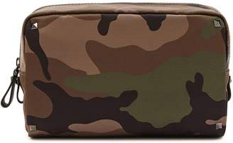 Valentino Garavani camouflage pouch