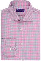 Ralph Lauren Purple Label Men's Checked Dress Shirt-PINK