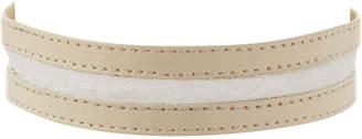 Ettika Jewelry Leather & Lace Choker Necklace