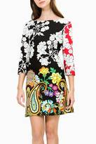 Desigual Retro Flowered Dress