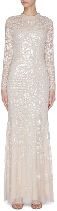 Needle & Thread 'Tempest' sequin embroidered gown