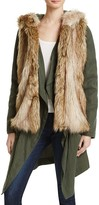 BB Dakota Gerrard Coat with Faux Fur Vest