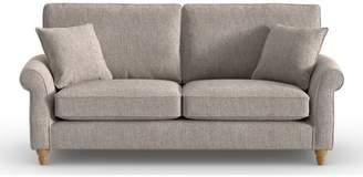 Next Ashford Tailored Comfort Large Sofa 3 Seats - Natural
