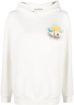 Givenchy Island print hoodie