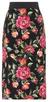 Dolce & Gabbana Floral-printed skirt