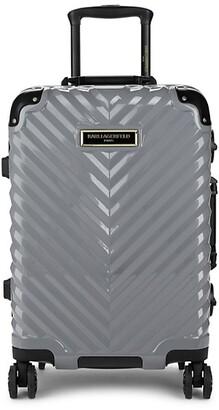 Karl Lagerfeld Paris Georgette Chevron Hard Shell Luggage