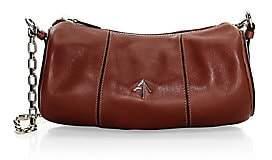 Atelier Manu Women's Leather Cylinder Shoulder Bag