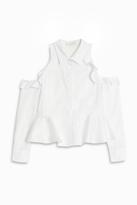 Jonathan Simkhai Ruffled Shirt