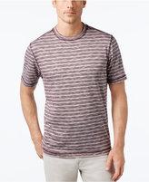 Tasso Elba Men's Performance UV Protection Striped T-Shirt