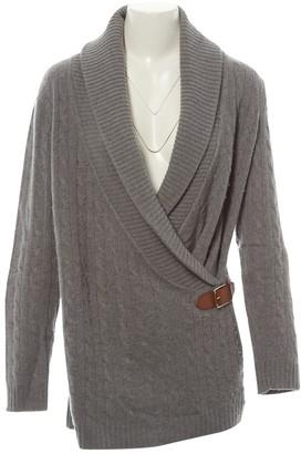 Ralph Lauren Grey Cashmere Knitwear