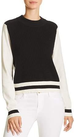 Rag & Bone Dean Color-Block Merino Wool Sweater