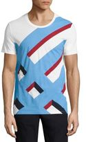Burberry Wilmore Abstract Checked T-Shirt