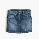 J.Crew Girls' denim mini skirt