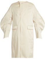 Toga Bonded-satin coat