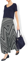 Monsoon Gina Geo Maxi Skirt