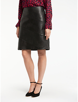 Gerry Weber Faux Leather Skirt, Black
