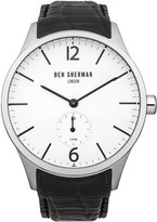 Ben Sherman Men's WB003BA Spitalfields Professional Analog Display Quartz Black Watch