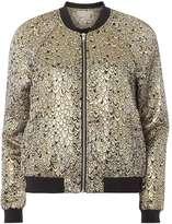 Vero Moda **Vero Moda Gold Peacock Bomber Jacket