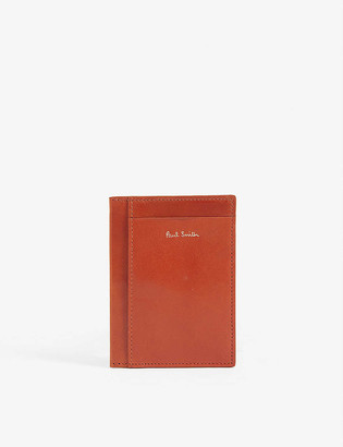 Paul Smith Polished leather card holder