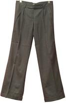 Hoss Intropia Grey Wool Trousers for Women