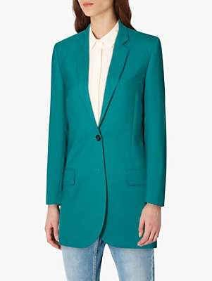 Paul Smith Hero Wool Blazer, Green