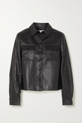Proenza Schouler White Label Leather Jacket - Black