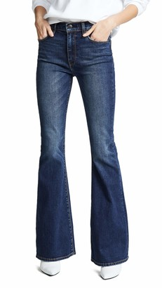Hudson Women's Holly High Rise Flare Jeans