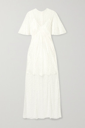 Les Rêveries Lace Gown - White