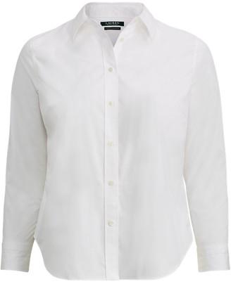WomanRalph Lauren No-Iron Stretch Cotton Shirt