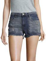 Blank NYC Distressed Denim Shorts