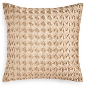 "Hotel Collection Deco Embroidery 18"" X 18"" Decorative Pillow, Created for Macy's Bedding"