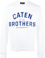 DSQUARED2 Caten Brothers sweatshirt - men - Cotton - M