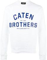 DSQUARED2 Caten Brothers sweatshirt - men - Cotton - XXL