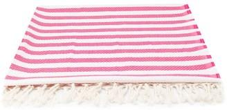 Mc2 Saint Barth Kids Foutas striped beach towel