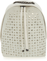 Furla Spy Cream Studded Backpack