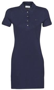 Lacoste SOLENE women's Dress in Blue