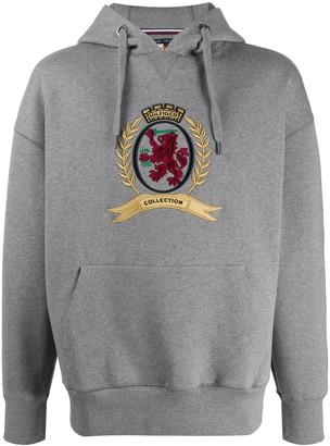 Tommy Hilfiger HCM crest embroidered hoodie